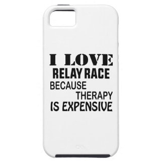I Love Relay Race Because Therapy Is Expensive iPhone SE/5/5s Case