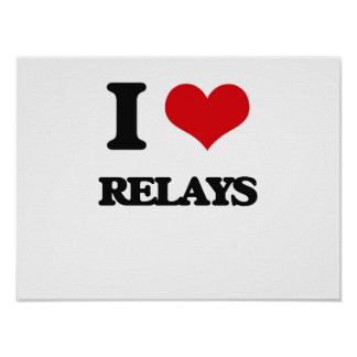 I Love Relays Poster