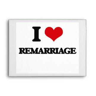 I Love Remarriage Envelope