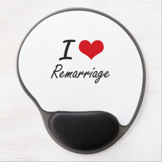 I Love Remarriage Gel Mouse Pad