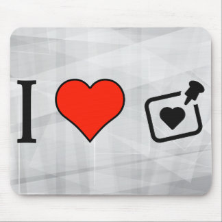 I Love Remembrance Mouse Pad