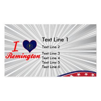 I Love Remington, Indiana Business Card