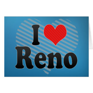 I Love Reno Card