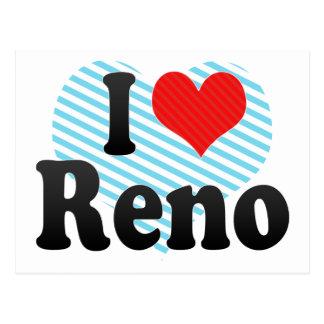 I Love Reno Postcard