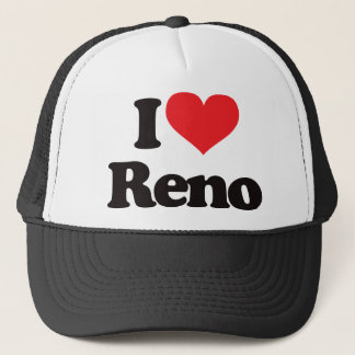 I Love Reno Trucker Hat