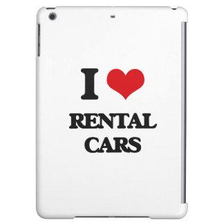 I Love Rental Cars iPad Air Cover