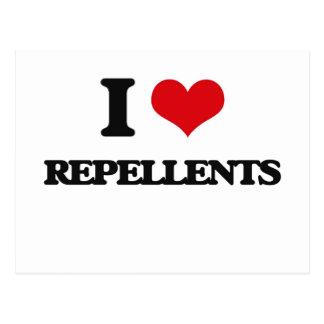 I Love Repellents Postcard