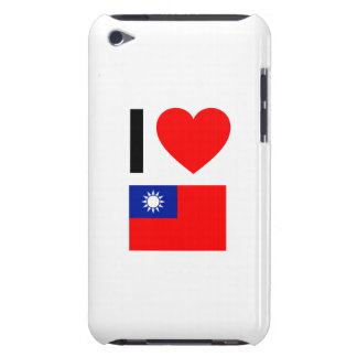 i love republic of china iPod touch case
