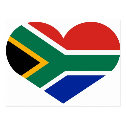 I love Republic of South Africa Postcards