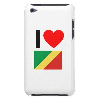 i love republic of the congo Case-Mate iPod touch case