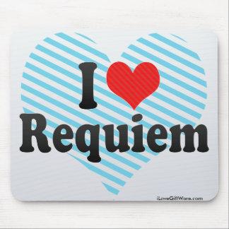 I Love Requiem Mouse Pad