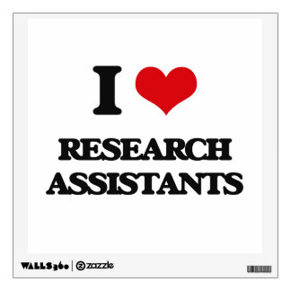 I love Research Assistants Room Graphic