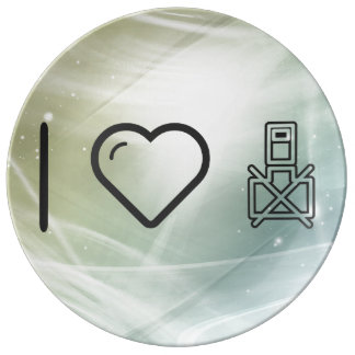 I Love Restrictions Porcelain Plates