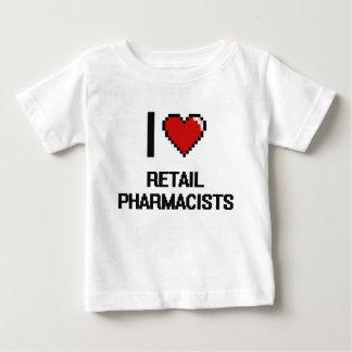 I love Retail Pharmacists T-shirts