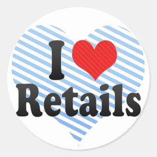 I Love Retails Sticker