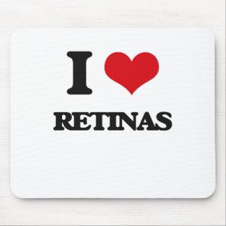 I Love Retinas Mouse Pads
