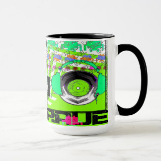 I Love retro Rave mug