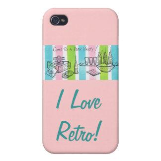 I Love Retro/ Teen Invite iPhone 4/4S Case