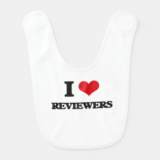 I Love Reviewers Baby Bibs