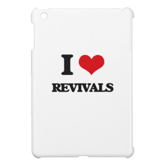 I Love Revivals iPad Mini Cover