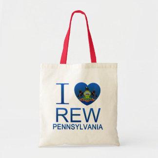 I Love Rew, PA Bag