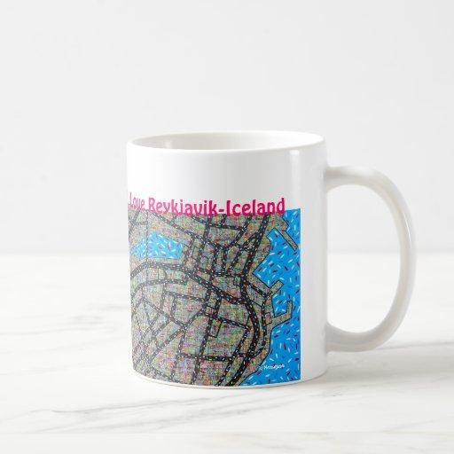 I Love Reykjavik-Iceland Classic White Coffee Mug