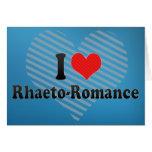 I Love Rhaeto-Romance Cards