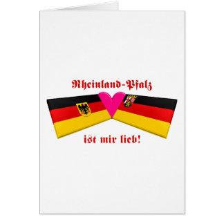 I Love Rheinland-Pfalz Card