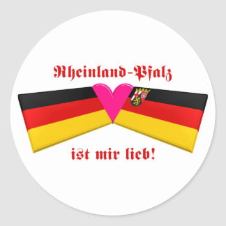 I Love Rheinland-Pfalz ist mir lieb Sticker