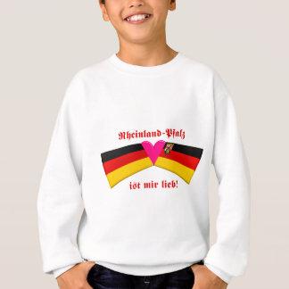 I Love Rheinland-Pfalz ist mir lieb Sweatshirt