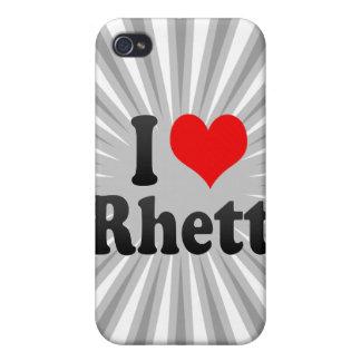 I love Rhett Cover For iPhone 4