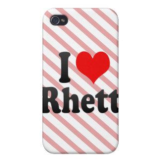 I love Rhett iPhone 4 Cover