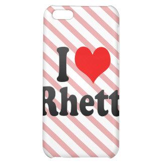 I love Rhett Case For iPhone 5C