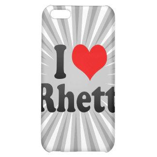 I love Rhett iPhone 5C Cover