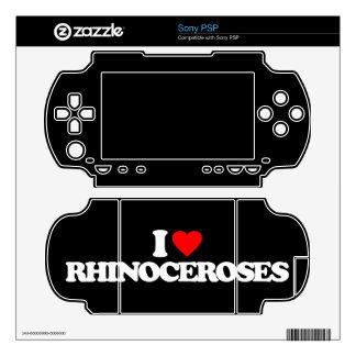 I LOVE RHINOCEROSES PSP SKIN