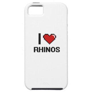 I love Rhinos Digital Design iPhone 5 Case