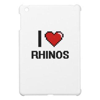 I love Rhinos Digital Design Cover For The iPad Mini