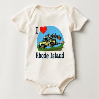 I Love Rhode Island Country Taxi Creeper