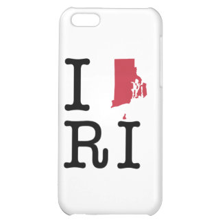 I Love Rhode Island Cover For iPhone 5C