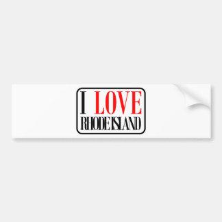 I Love Rhode Island Design Bumper Sticker
