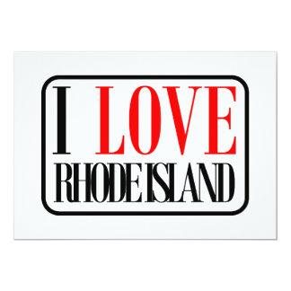 I Love Rhode Island Design Card