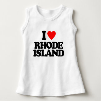 I LOVE RHODE ISLAND DRESS