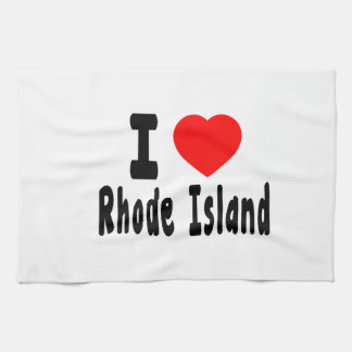 I Love Rhode Island Towels