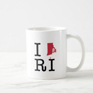 I Love Rhode Island Mugs