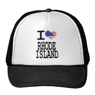 I love Rhode Island Trucker Hat