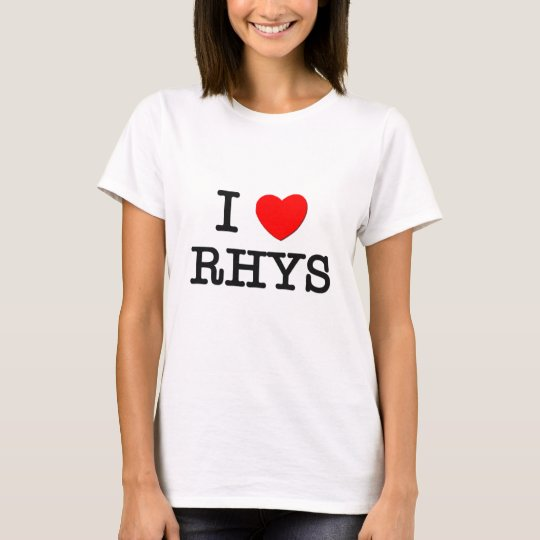 I Love Rhys T-Shirt