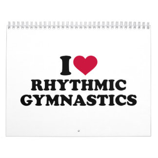 I love rhythmic gymnastics calendar