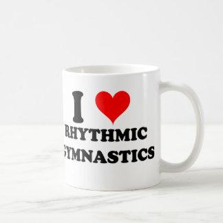 I Love Rhythmic Gymnastics Coffee Mugs