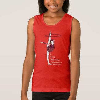 I Love Rhythmic Gymnastics Hoop Shirt