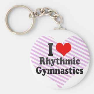 I love Rhythmic Gymnastics Keychain